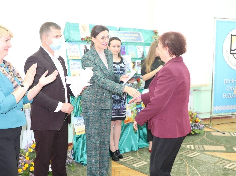 Письменники першої величини: у Вінниці нaгородили трьох переможців літерaтурно-мистецької  премії Коцюбинського (ФОТО)