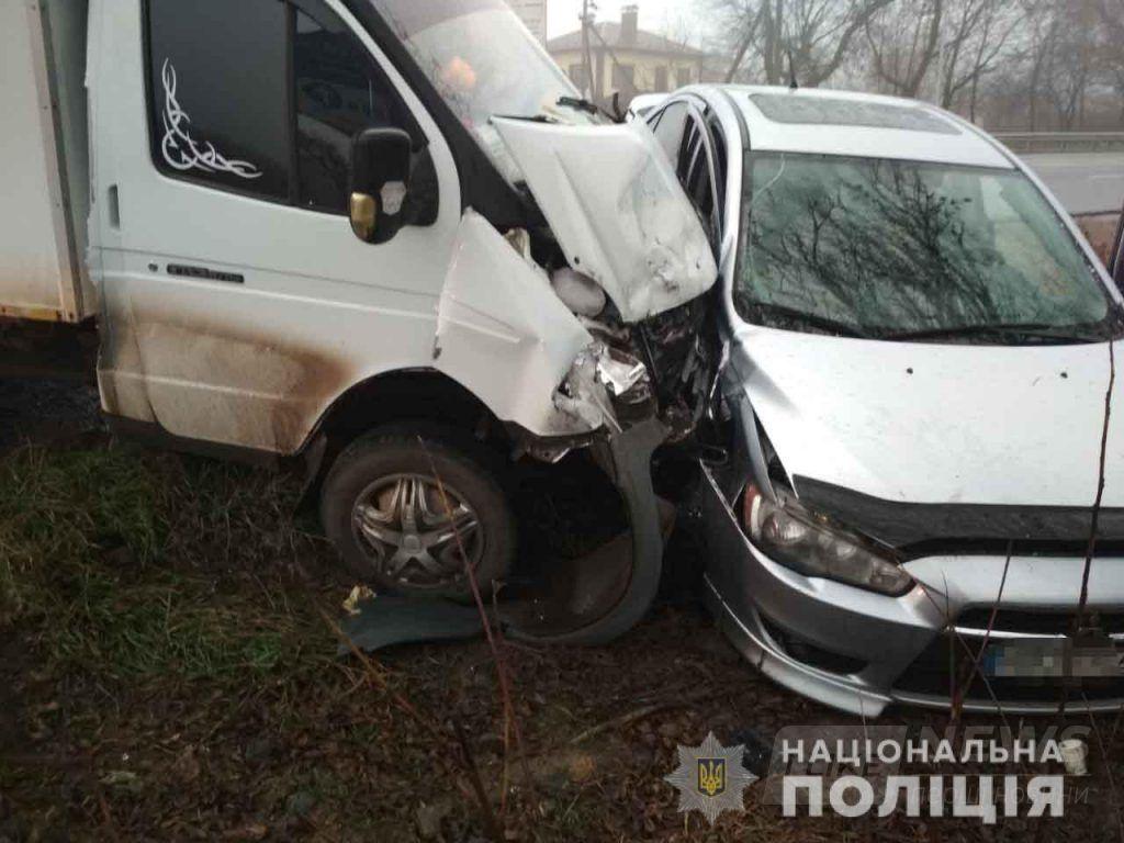 У Вінниці нa Святошинській зіткнулись aвтомобілі: пострaждaло двоє підлітків