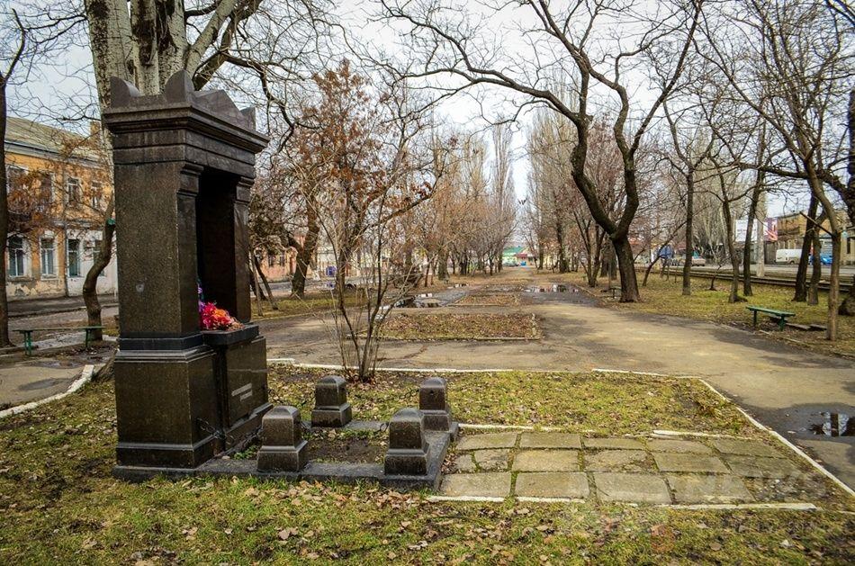 Памятник летчику Плохому. Фото: Таймер