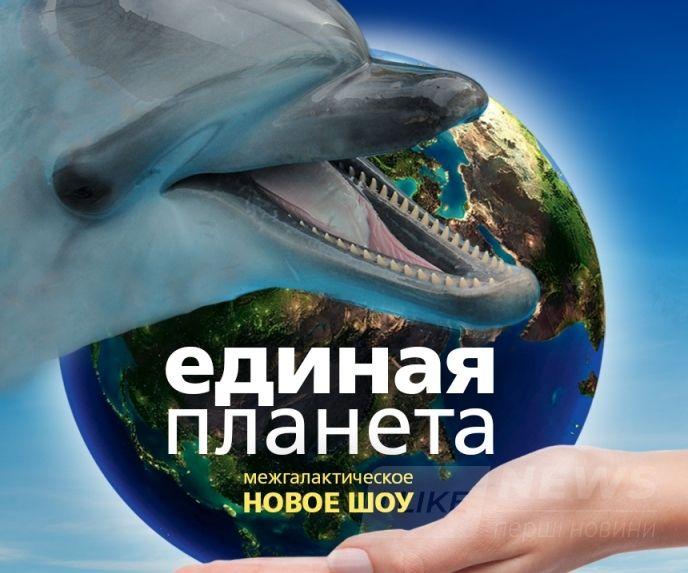 """Картинки по запросу Новое шоу в дельфинарии """"Единая планета"""""""