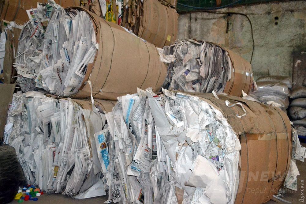 Газеты сортируют отдельно