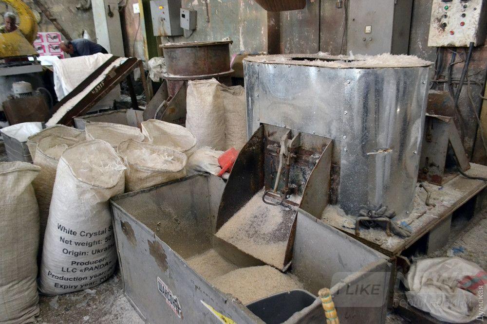 Измельченная полиэтиленовая пленка