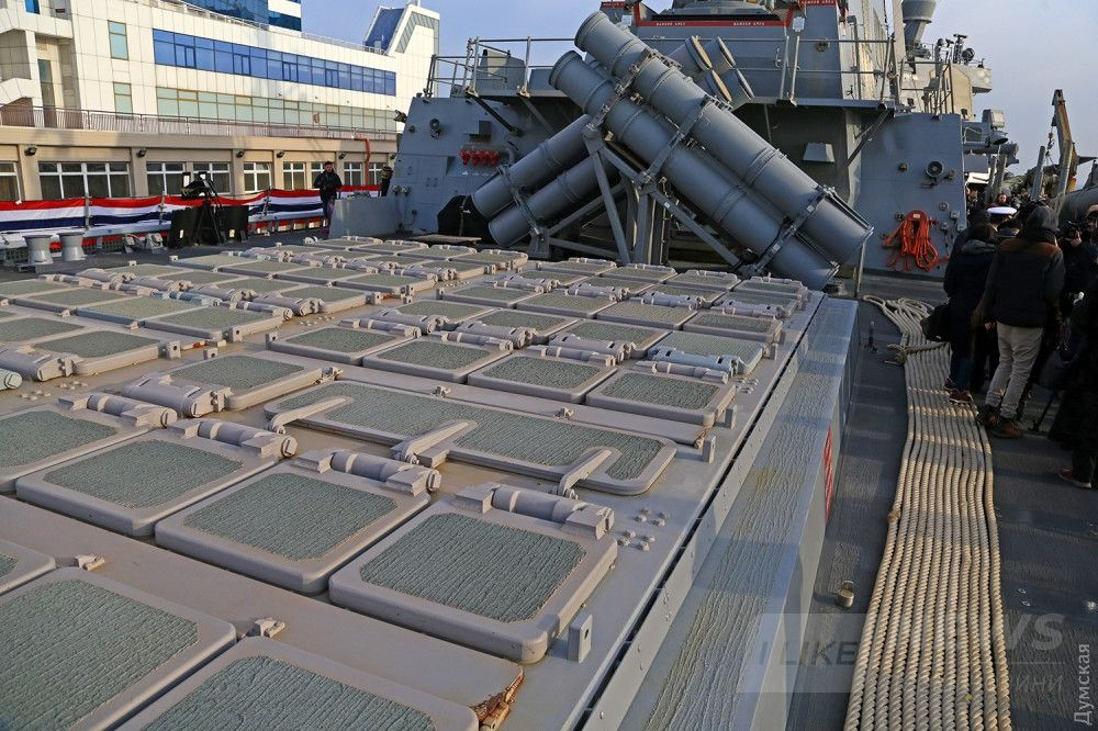 Кормовая система шахт - всего 92 пусковых установки