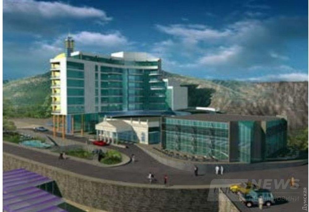 В 2014-м году проект отеля выглядел так