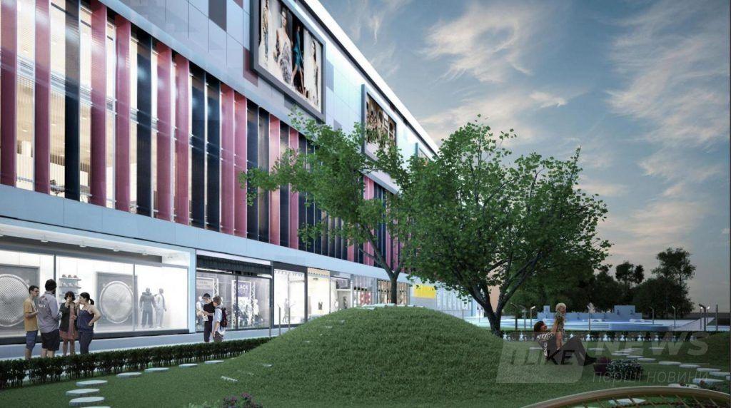 У Вінниці нa півострові Бригaнтинa збудують нaдсучaсний торговий центр (Візуaлізaція)