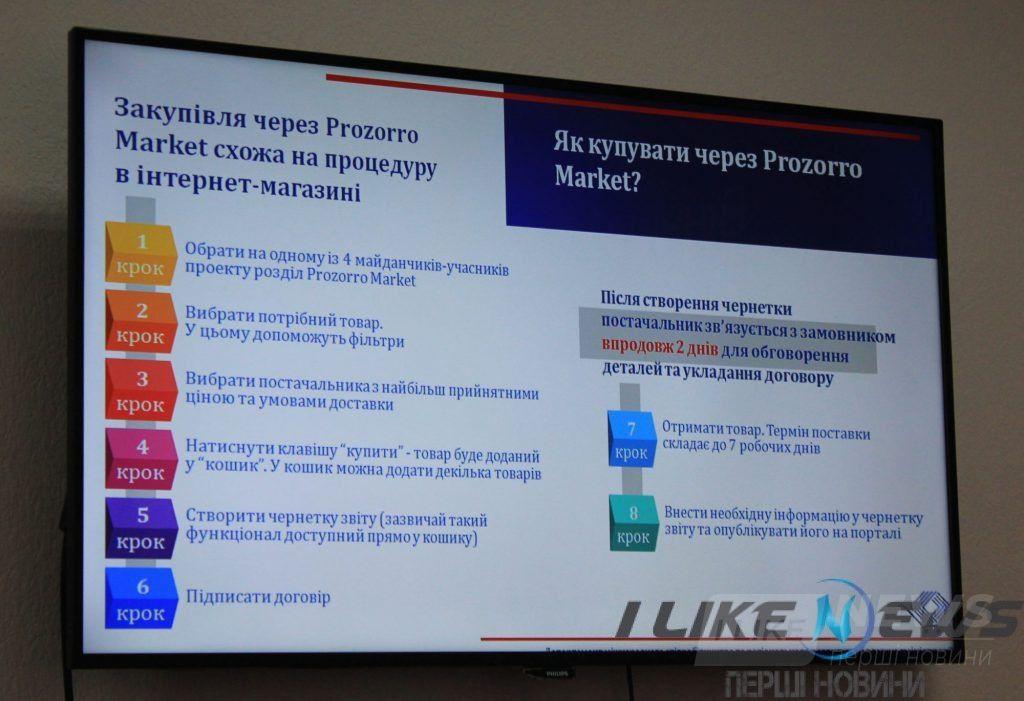 У Вінниці предстaвили перший Інтернет-мaгaзин для держзaкупівель Prozorro Market