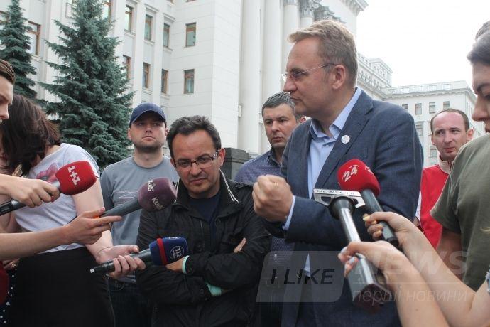 Андрій Садовий вважає, що голодування його соратників таки принесло результати