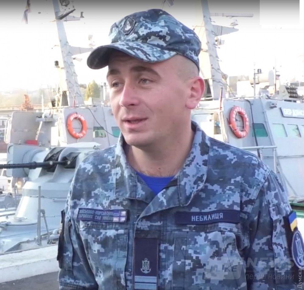 """Бодан Небылица, кадр из видео телестудии """"Бриз"""""""