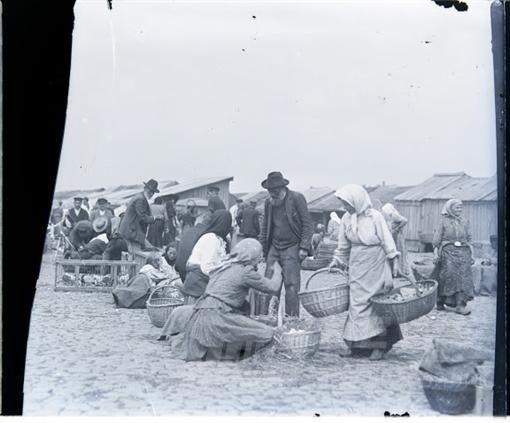 Так выглядел базар в начале своего создания. Фото: odessa-history.livejournal.com
