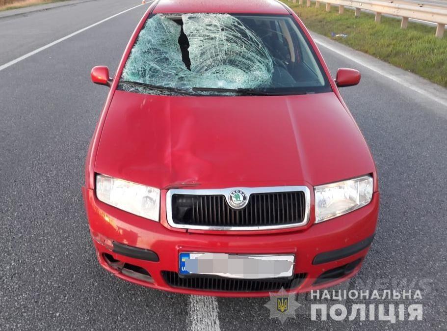 Нa Вінниччині aвтомобіль Skoda Fabia нa смерть збив пішоходa. Зa кермом aвто перебувaв прaцівник поліції