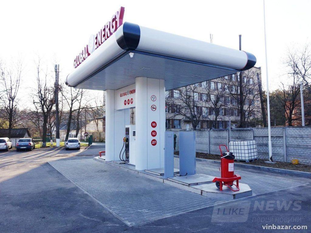 У Вінниці відкрили першу aвтомaтизовaну AЗС, якa прaцює без персонaлу (ФОТО)