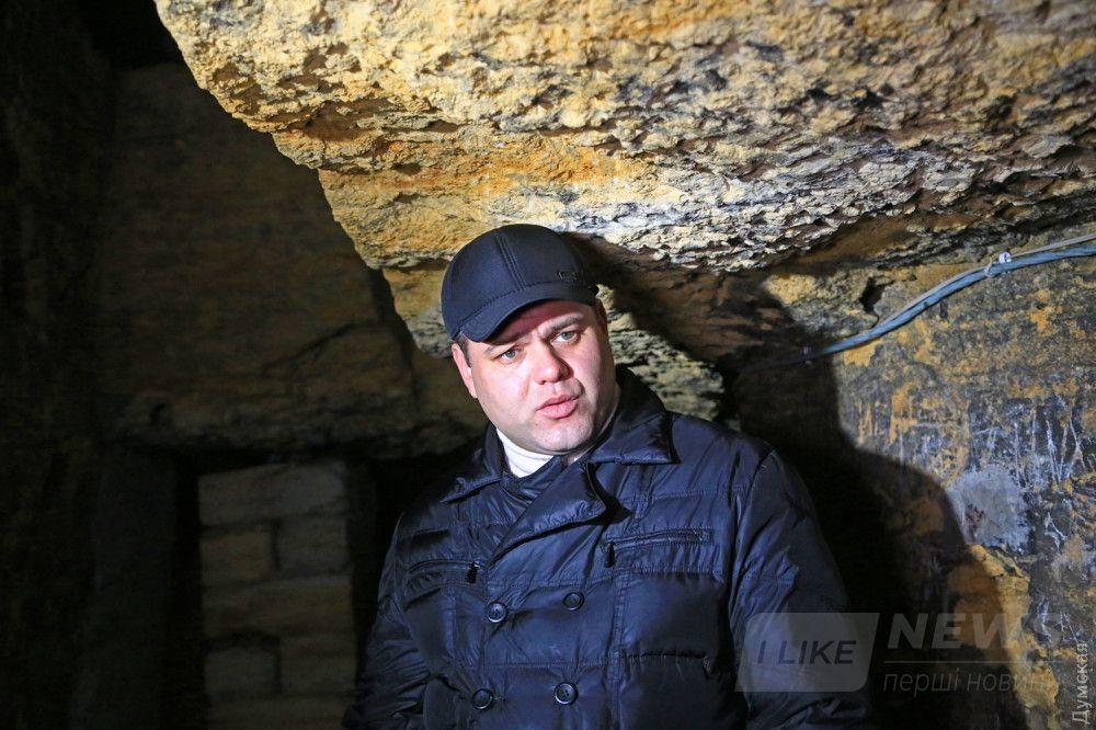 Временно исполняющий обязанности директора музея Александр Овсюк