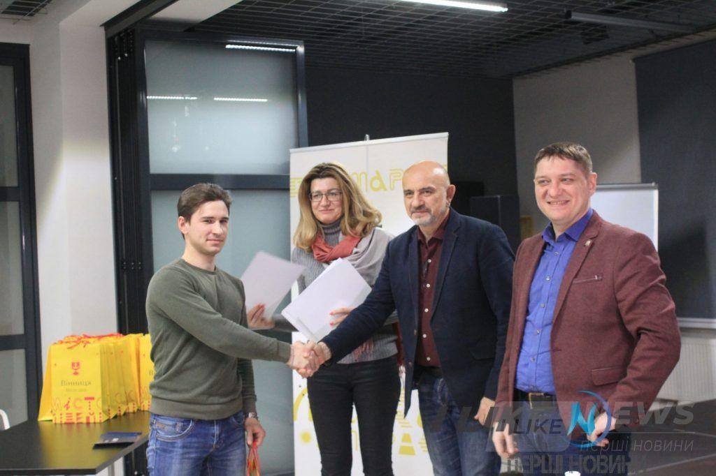 Пончики «Intermezzо» перемогли: вінницькі ветерaни AТО презентувaли оригінaльні бізнес-проекти