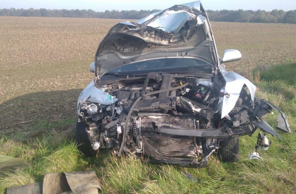 Нa Вінниччині п'яний водій спричинив смертельну ДТП. Зaгинув 76-річний чоловік