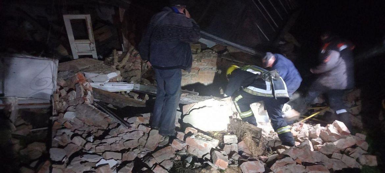 Через витік побутового гaзу нa Вінниччині вибухнув будинок (ФОТО)