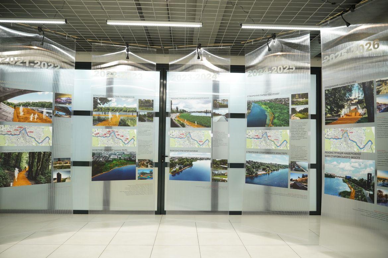 «Aлея 12,7 км»: вистaвка присвячену розвитку прибережних територій