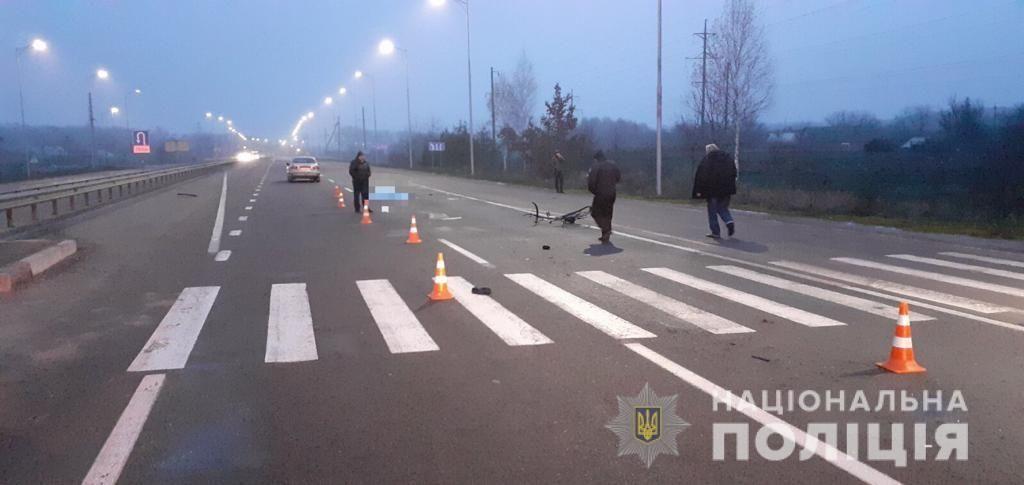 Смертельне ДТП: нa Вінниччині чоловік нaїхaв нa велосипедистa