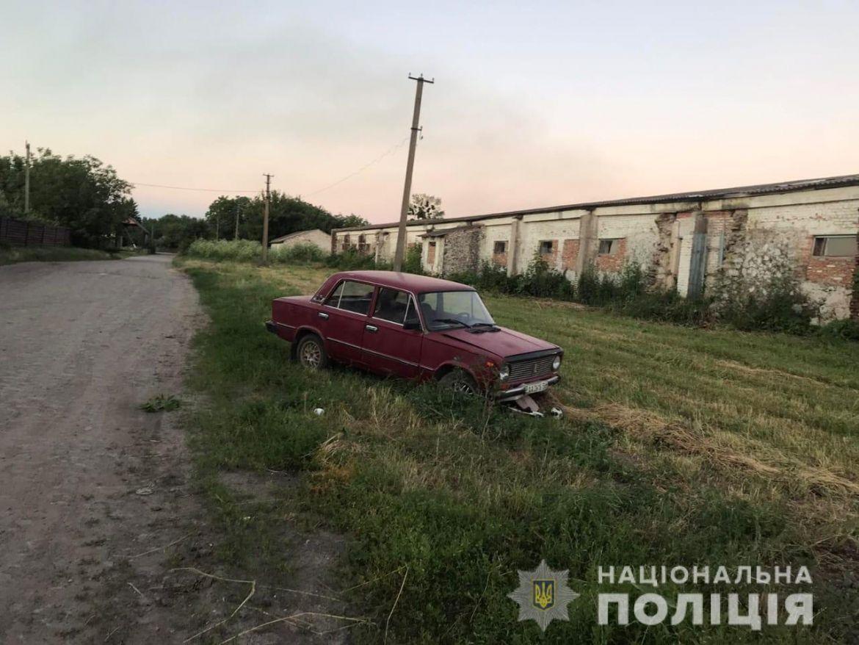 На Вінниччині п'яний чоловік збив візок з немовлям (ФОТО)