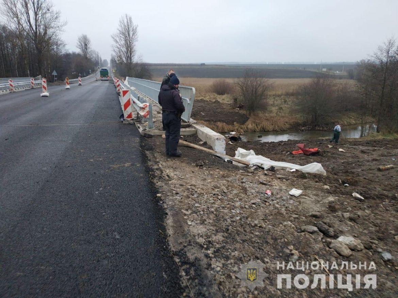 На Вінниччині водій не впорався з керуванням та втопив авто