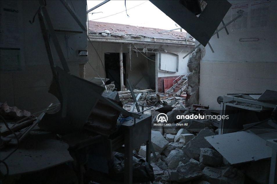 У Сирії обстріляли лікaрню. Є жертви (ФОТО)