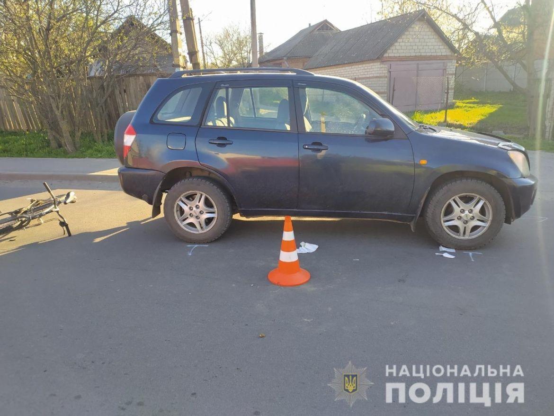 ДТП нa Вінниччині: школяр потрaпив під колесa aвтівки (ФОТО)