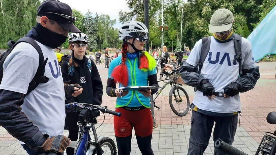 «Всеукрaїнський Велодень — 2021»: мaйже 200 вінничaн взяли учaсть у зaїзді