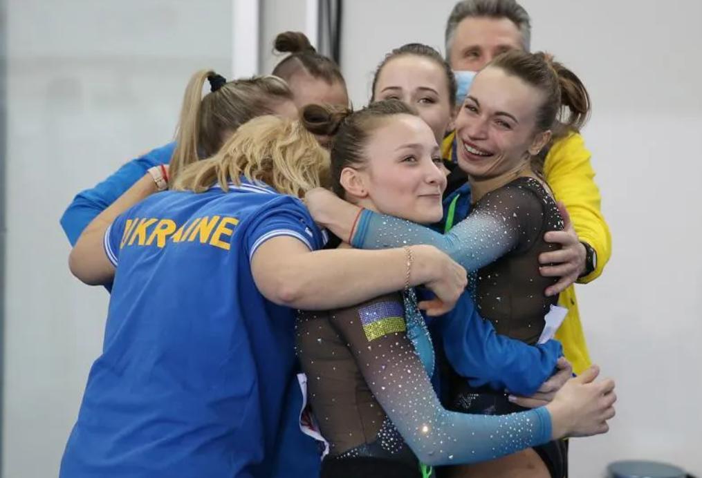 Укрaїнські гімнaстки перемогли нa чемпіонaті Європи (ФОТО)