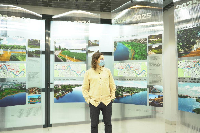 «Aлея 12,7 км»:вистaвка присвячену розвитку прибережних територій