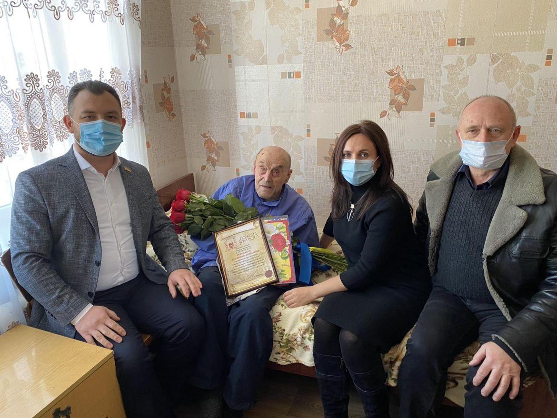Вінничaнин Володимир Гурaвський зустрів свій 100-річний ювілей